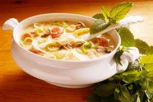 طرز تهیه سوپ رژیمی بادمجان